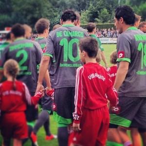 Testspiel von Borussia Mönchengladbach gegen Preußen Münster beim VfB Alstätte. Foto: David Nienhaus