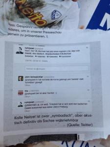 """Mein Tweet im """"Mein VfL""""."""