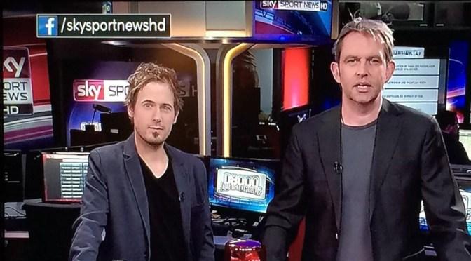 Am Sonntagabend war ich bei 0800 du bis drauf bei Sky Sport News HD zu Gast