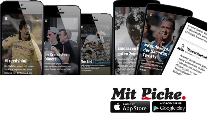 """Fußball """"Mit Picke."""" – die neue App erzählt Geschichten"""