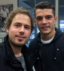 Granit Xhaka im Interview mit David Nienhaus