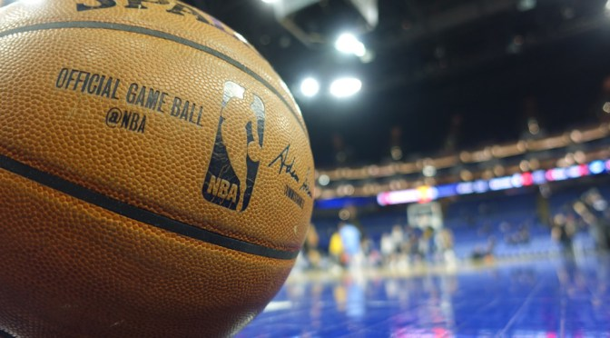 Im Rahmen der NBA Global Games machten die Indiana Pacers und die Denver Nuggets in London halt. Foto: David Nienhaus