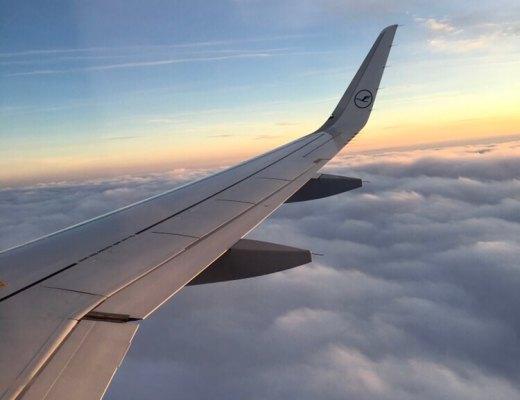 Lufthansa Flug
