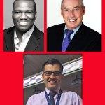 Kevin Lewis, Dan Schnur, and Enbriquie Gutierrez, Jr.