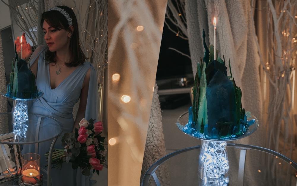 dasynka-fashion-blogger-blog-cosplay-cosplayer-disney-disneyland-make-up-costume-ideas-party-costumes-frozen-II-2-elsa-anna-ice-palace-crystal-photoshop-art-digital-before-after-photomontage-princess-cake-birthday-blue-dress-asos-glass-edible