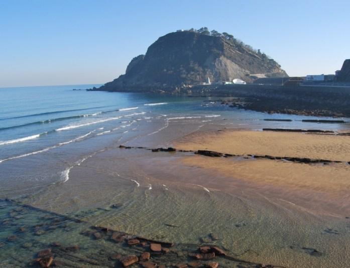 Playa de Gaztetape - Getaria