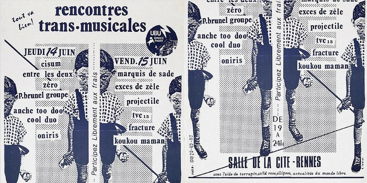 Affiche des Transmusicales de Rennes 1979