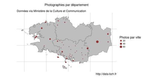 carte des photos