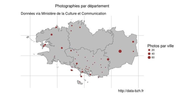 carte des photos