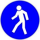 Passage obligatoire pour les piétons