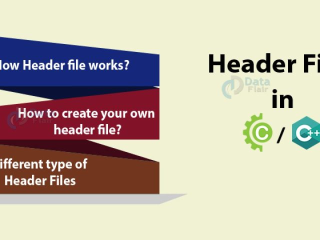 Header Files in C/C++  Create Header Files Within Seconds - DataFlair