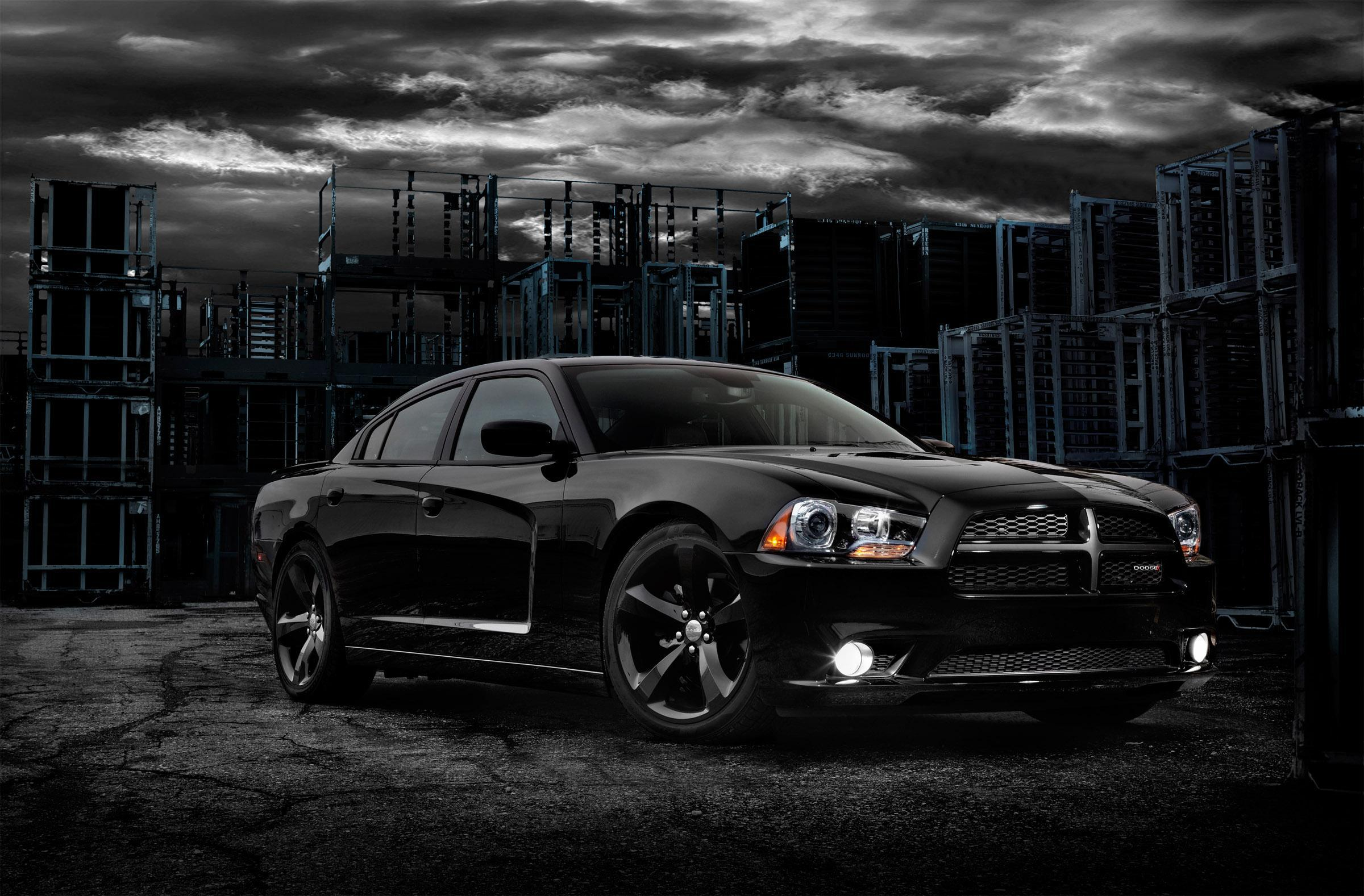 2012 Dodge Charger Blacktop Hd Desktop Wallpaper Widescreen High