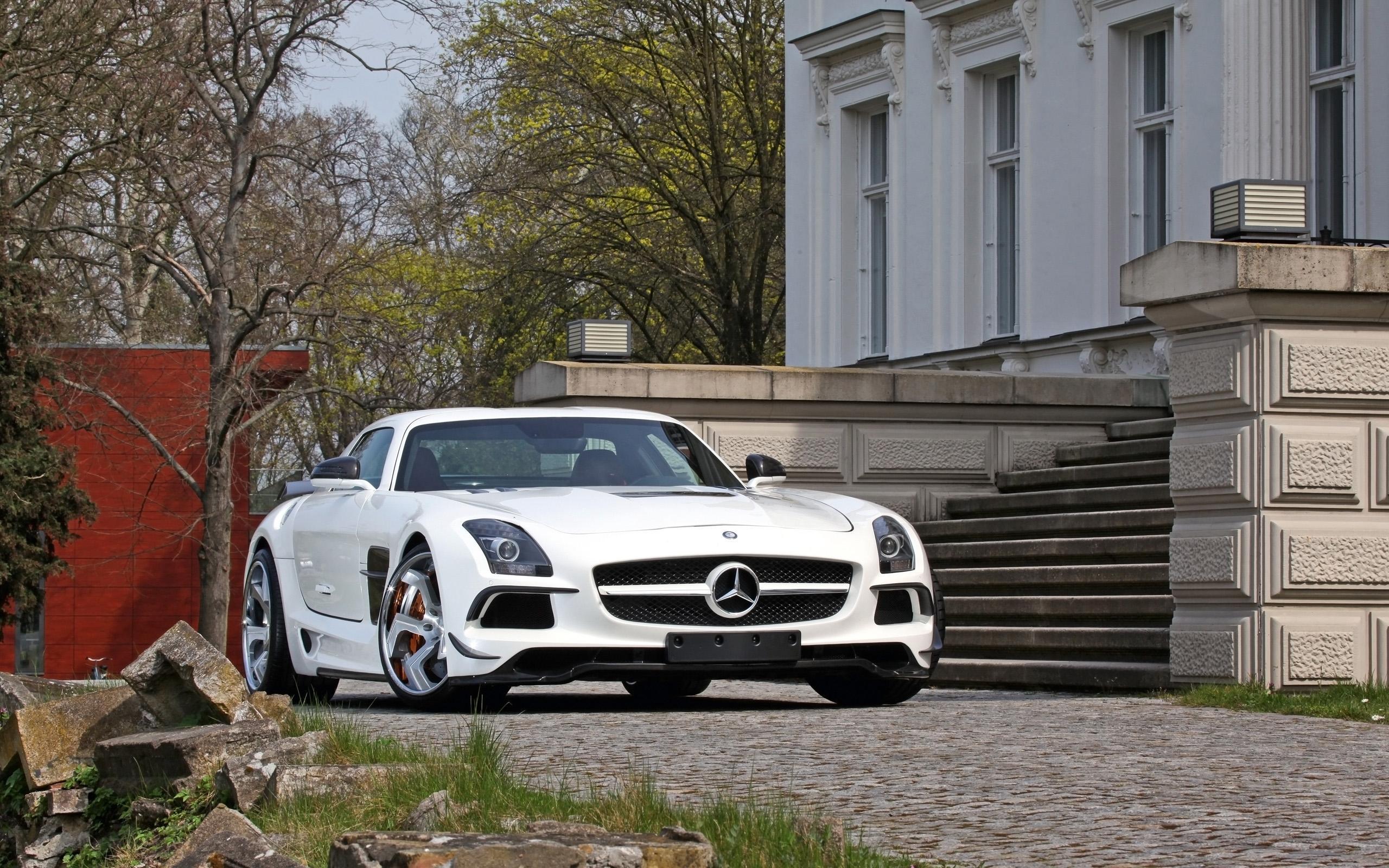 2014 Sga Aerodynamics Mercedes Benz Sls Amg Hd Desktop Wallpaper