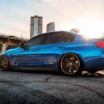 Bmw 335i F30 Car Tuning Side City Hd Desktop Wallpaper Widescreen High Definition Fullscreen