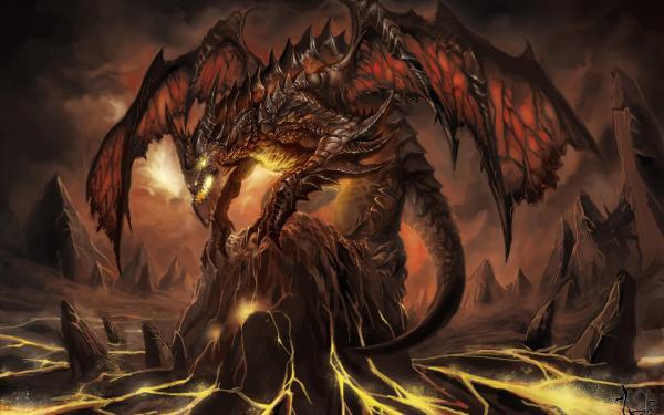 Demon Dragon Hd Desktop Wallpaper Widescreen High