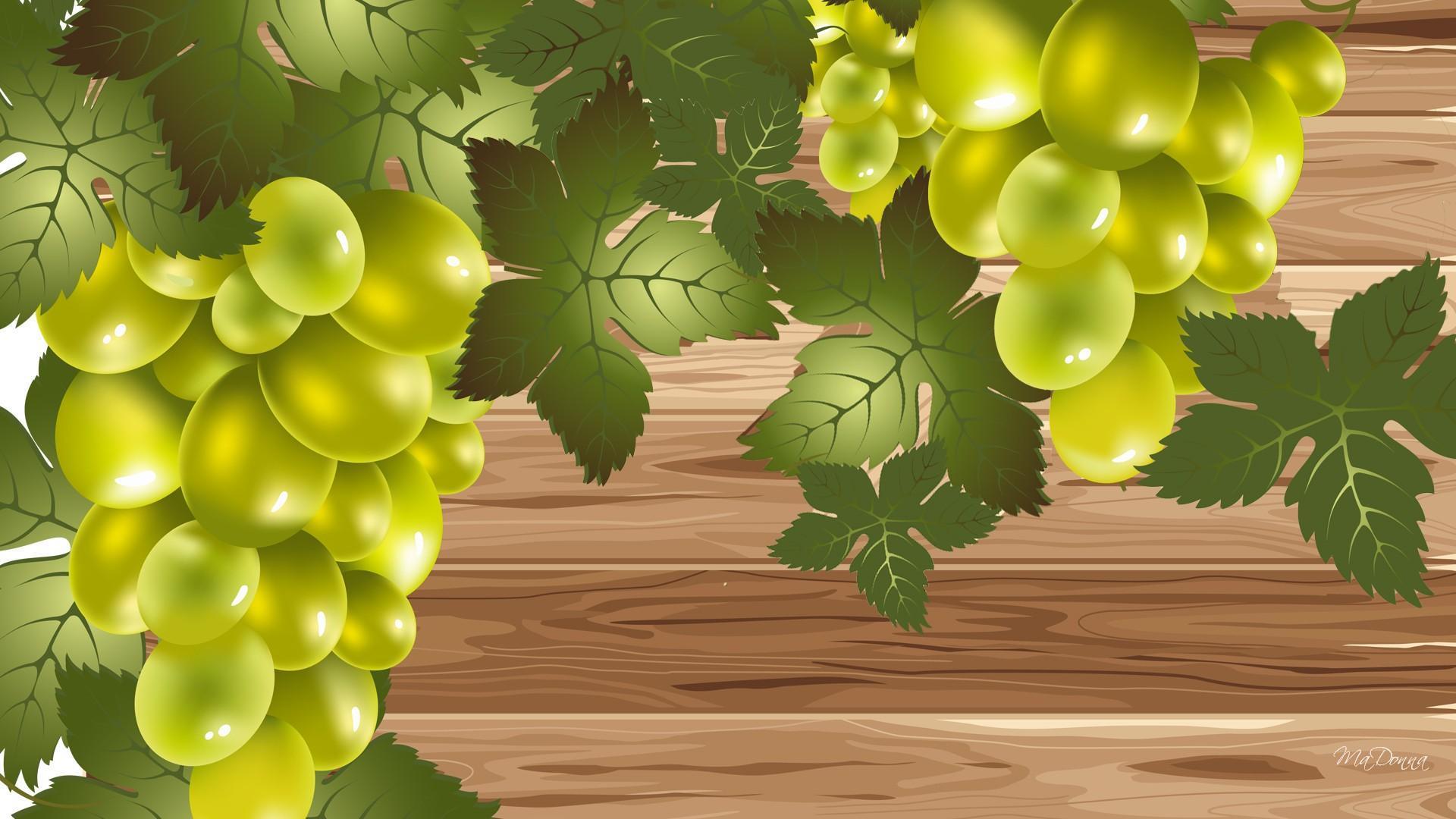 Fall Wallpaper Photos Microsoft Grape Vines On Wood Hd Desktop Wallpaper Widescreen