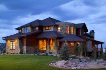 Rustic Mountain Home House Plan