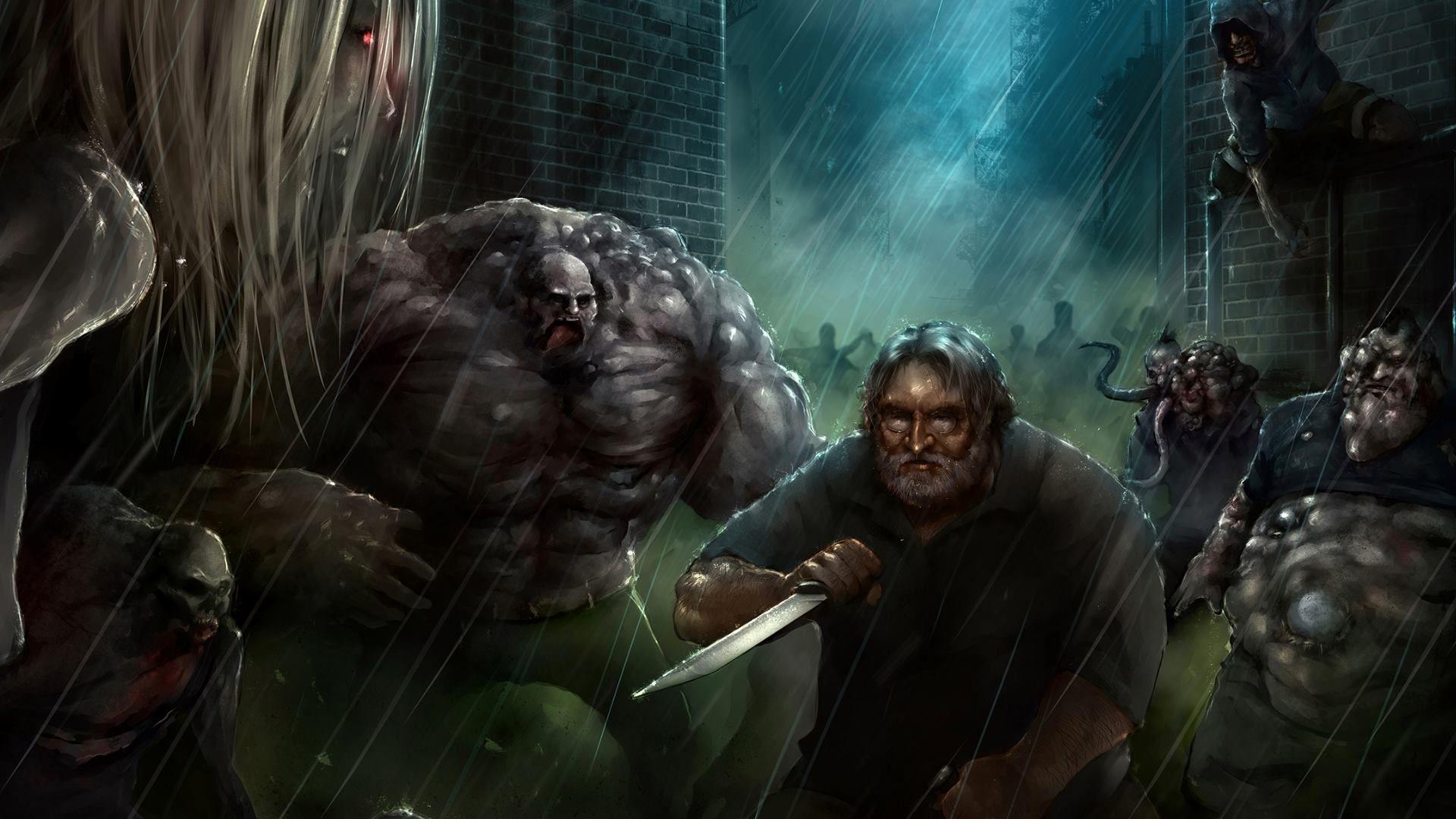 Left 4 Dead monsters HD desktop wallpaper : Widescreen : High Definition : Fullscreen