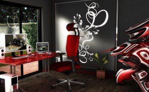 office 3d study cool wallpapers background modern wall desktop backgrounds computer mystery cgi workplace resolutions 1freewallpapers fantasy abyss