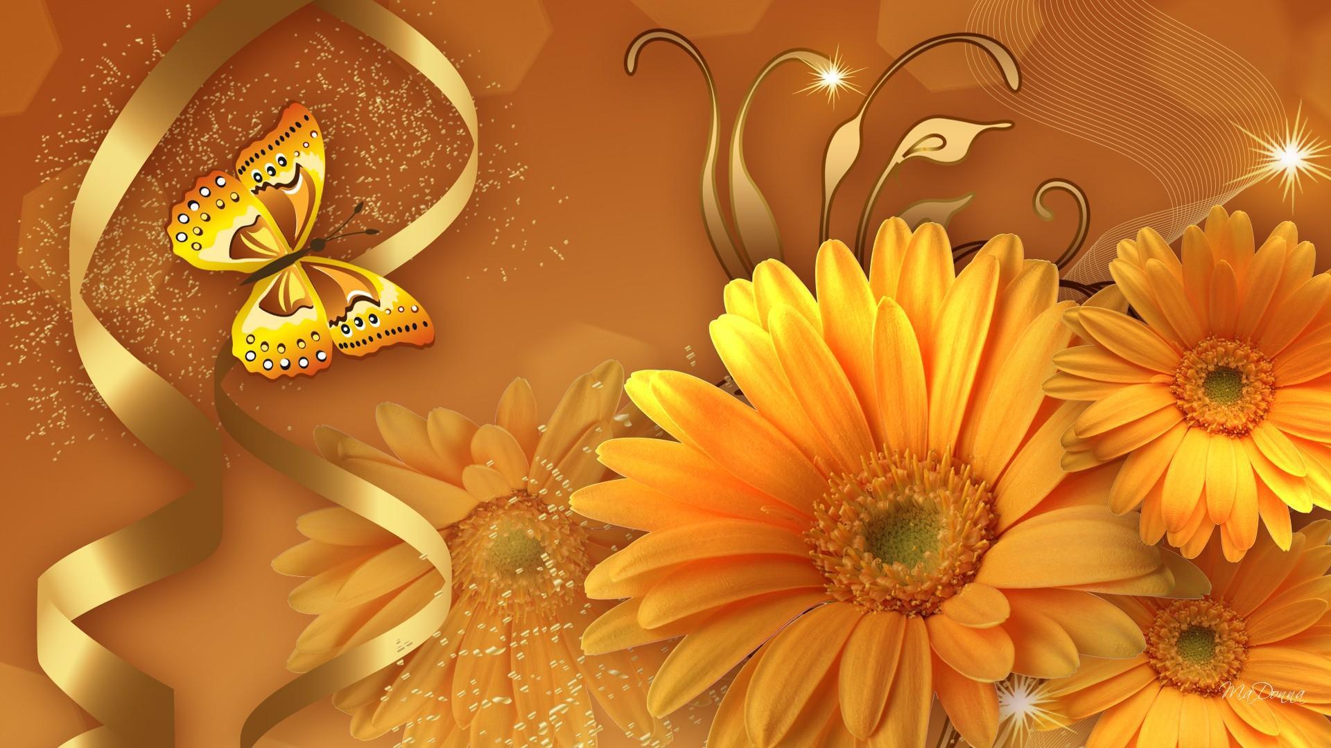 Fall Desktop Wallpaper With Sunflowers Remember Orange Hd Desktop Wallpaper Widescreen High