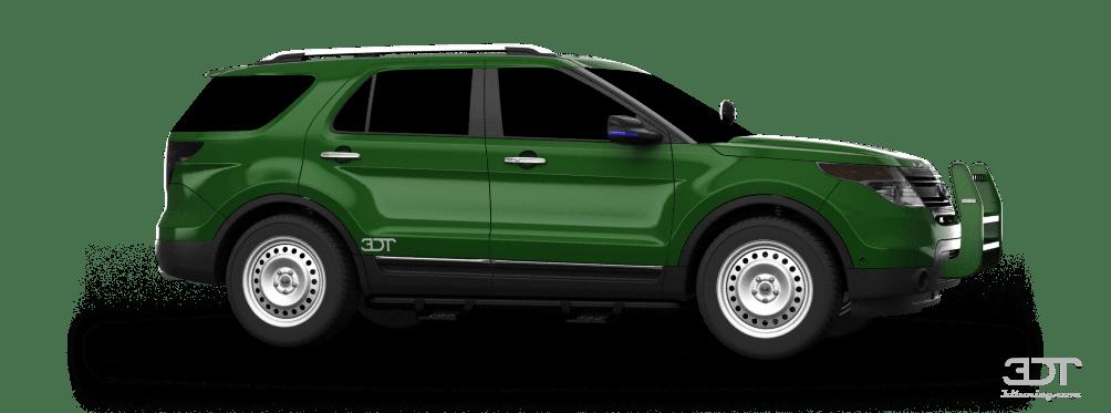 2011 Ford Explorer Custom Accessories