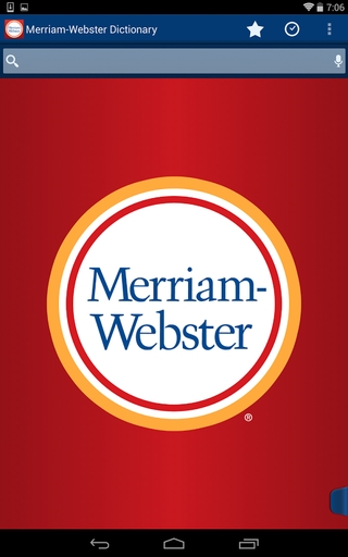 Merriam-Webster Dictionary & Thesaurus APK 3.2.0 - download free apk from APKSum
