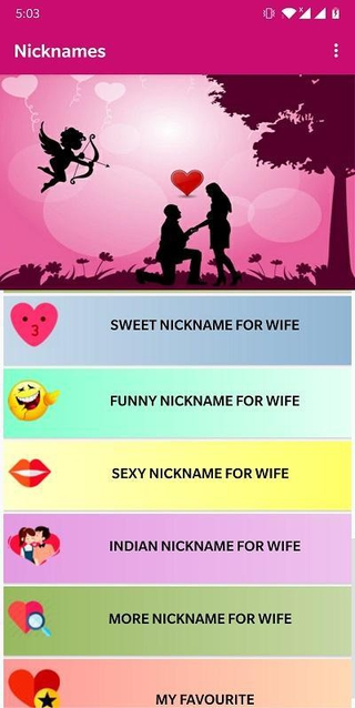 Funny Wife Names : funny, names, Nicknames, Download, APKSum