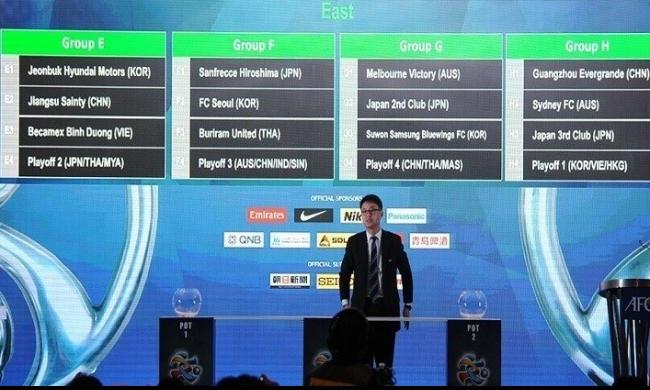 سحب قرعة دوري أبطال آسيا لموسم 2016 رياضة عرب 48