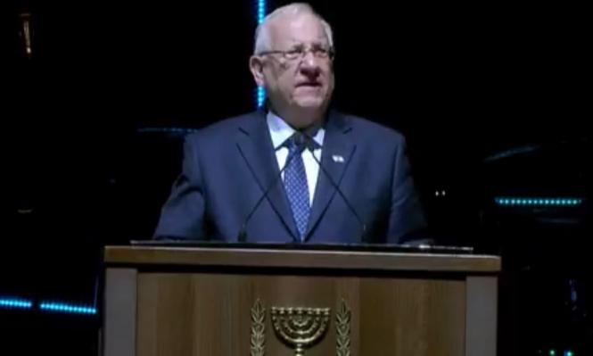 ريفلين: على العالم الاعتراف بأن الجولان جزء من إسرائيل