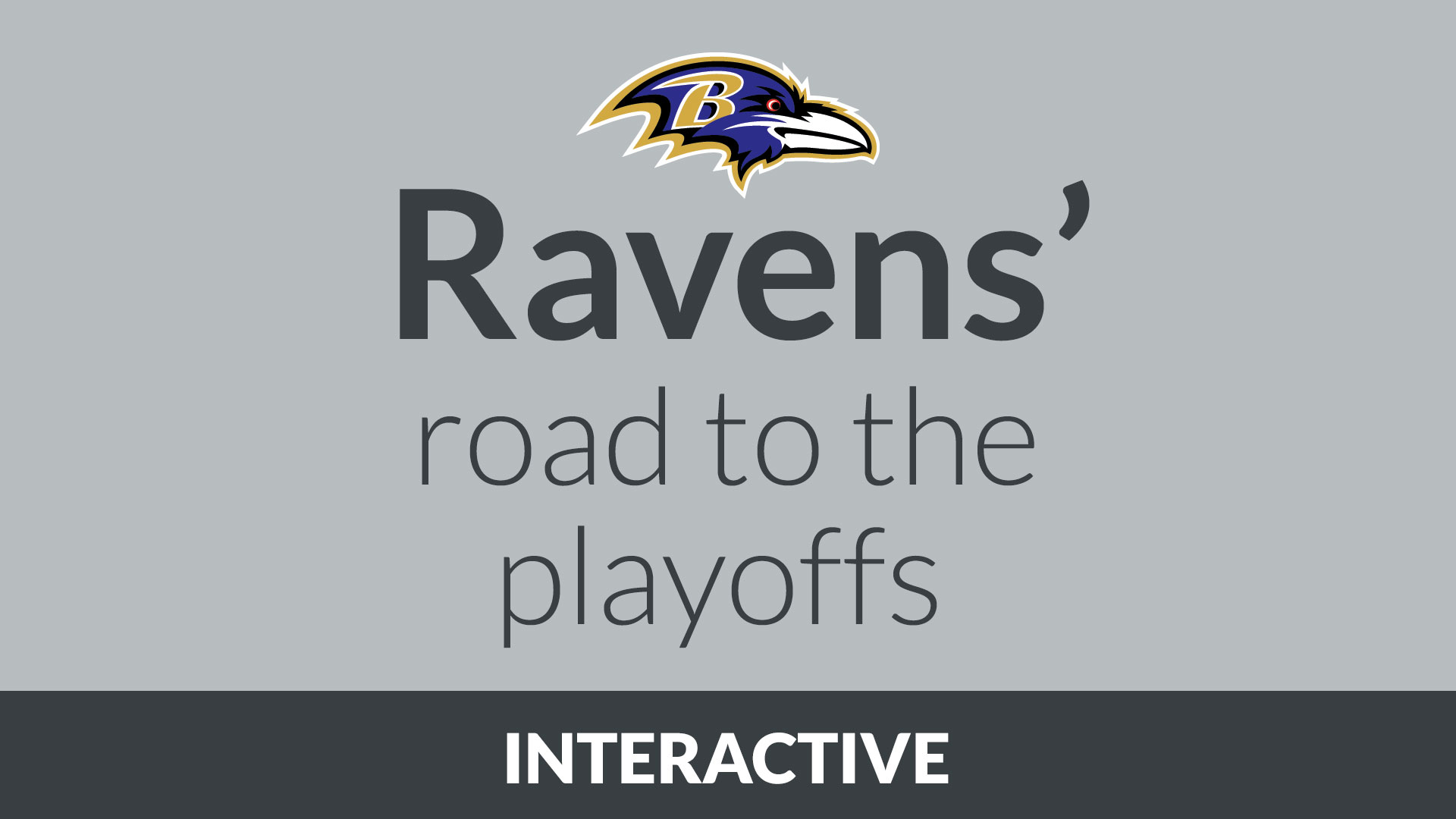The Ravens' Road to the Playoffs