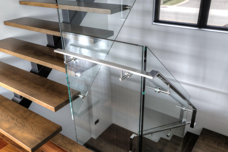 Collection Vertbral  Limon central  Escaliers  Battig Design