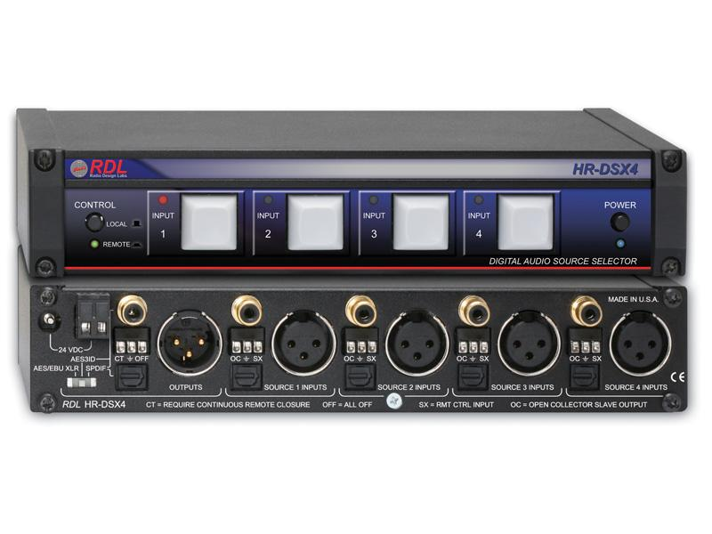 Digital Selector With 8 Sources