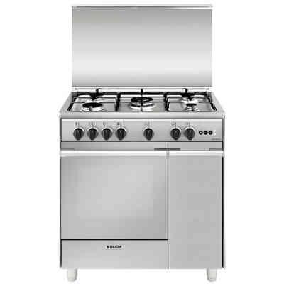 plg96mftc lofra cucina 90x60 5 fuochi a gas inox
