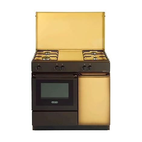 sgk854 delonghi cucina 4 fuochi a gas marrone  Cucine Cucina 4 fuochi  ClickForShop