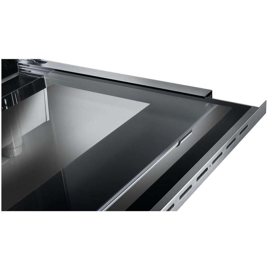 Tecnogas D827XS cucina 80x50 5 fuochi a gas forno elettrico multifunzione 52 litri classe A