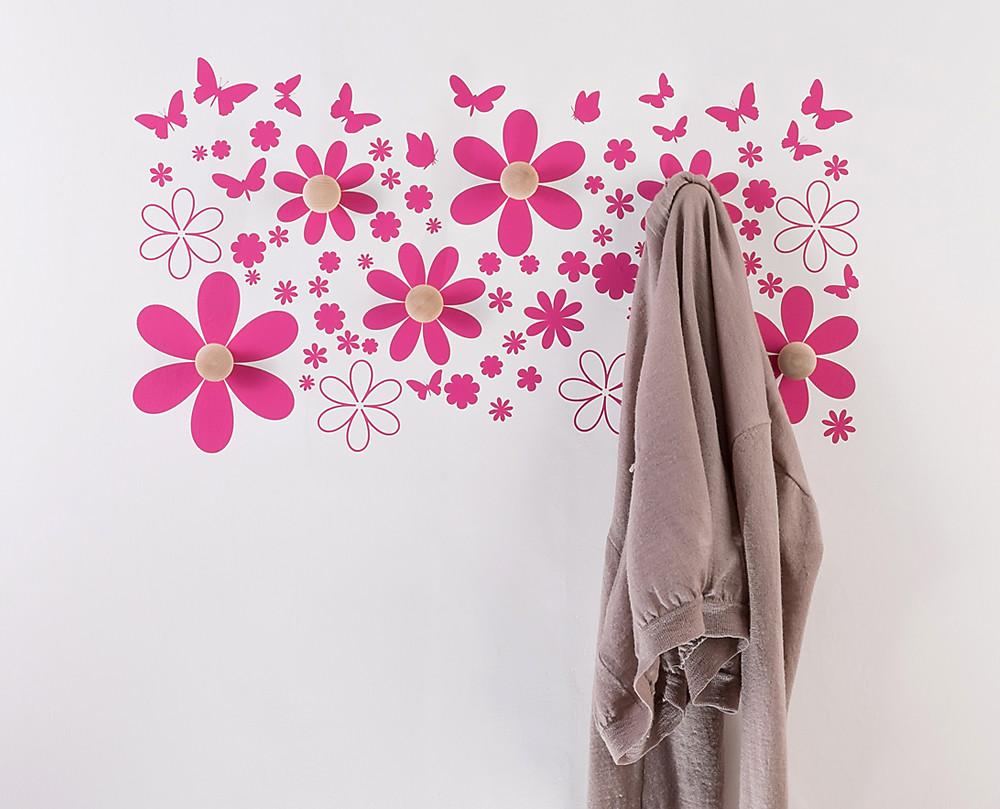 Appendiabito da Muro Farfalle  Decoramoit