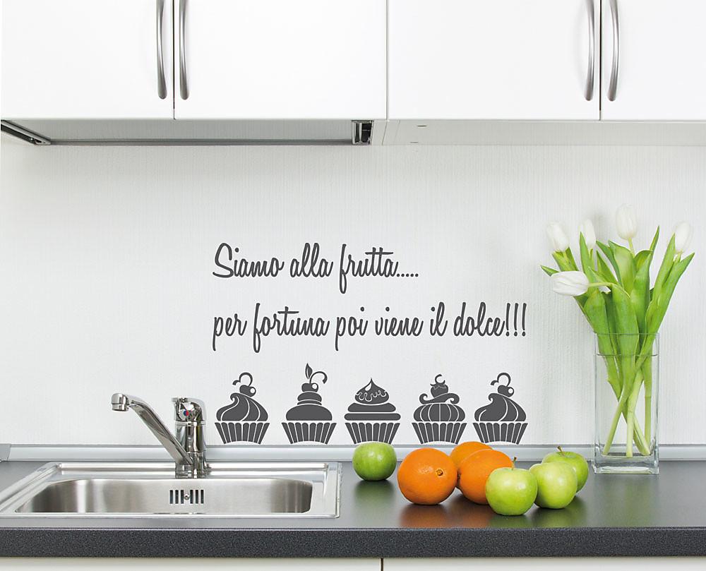 frutta decorazione adesiva da parete