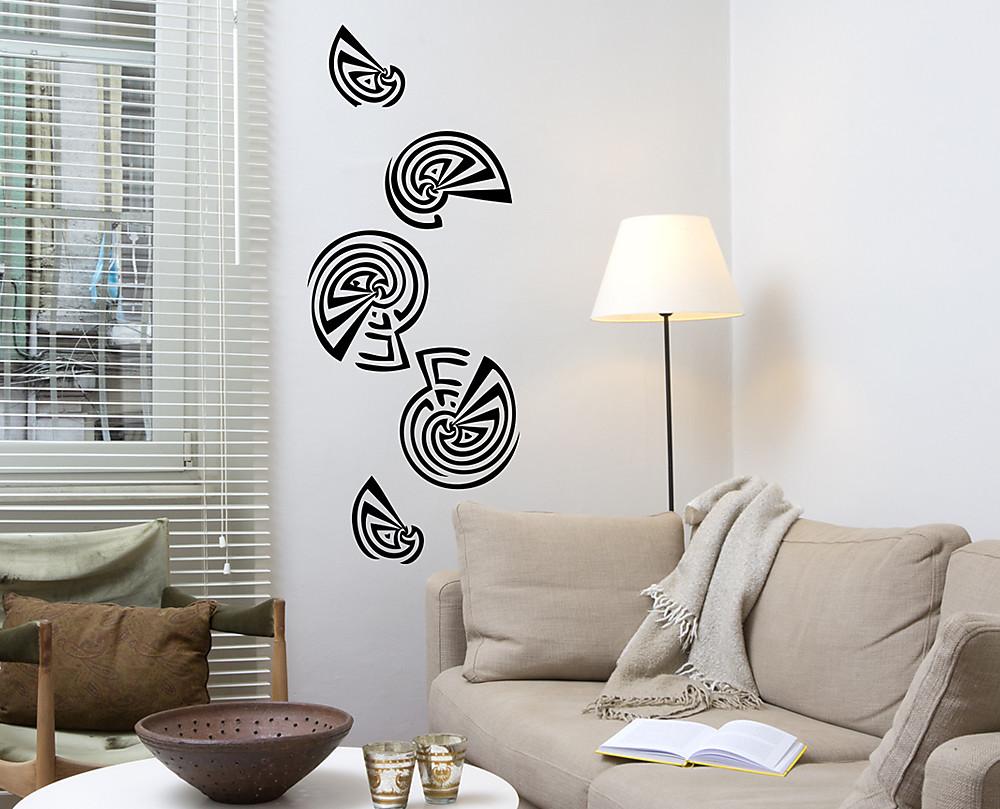 sticker conchiglie decorazione adesiva murale