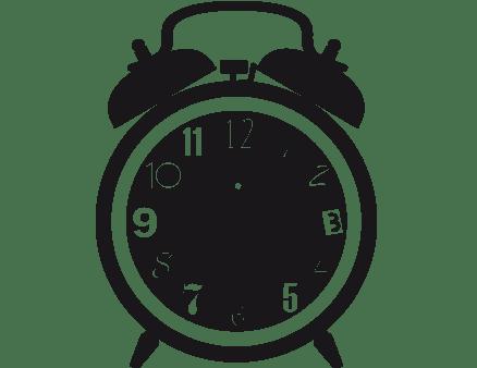 sveglia orologio da parete
