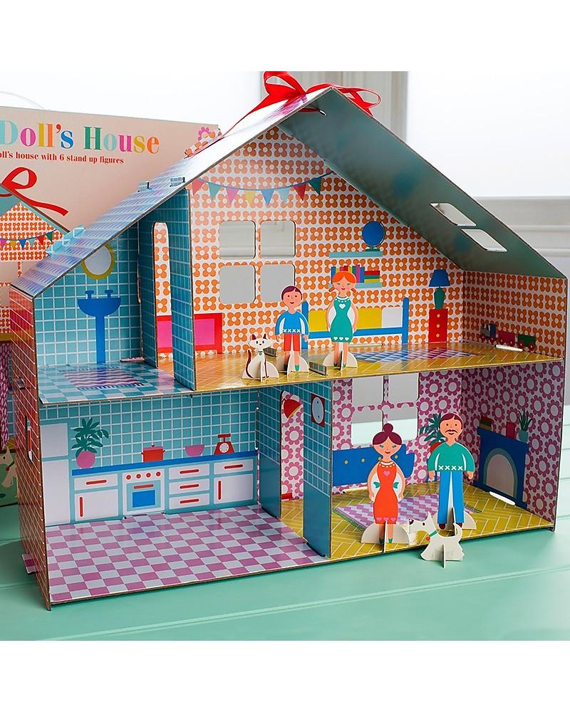 Rex London Casa Delle Bambole In Cartone Fai Da Te Include