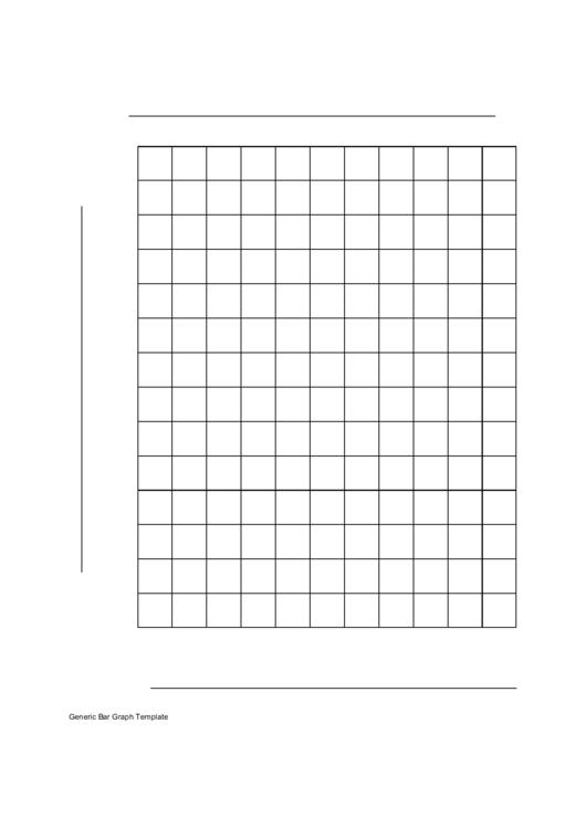 Blank Bar Graph Paper printable pdf download