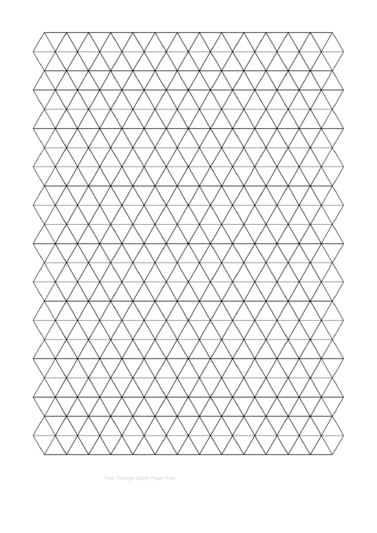 Top 22 Triangle Graph Paper Templates free to download in