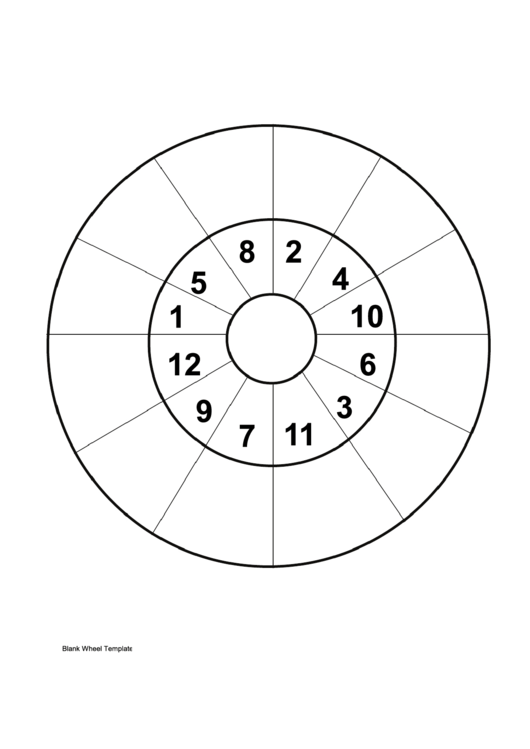 29 Wheel Templates free to download in PDF