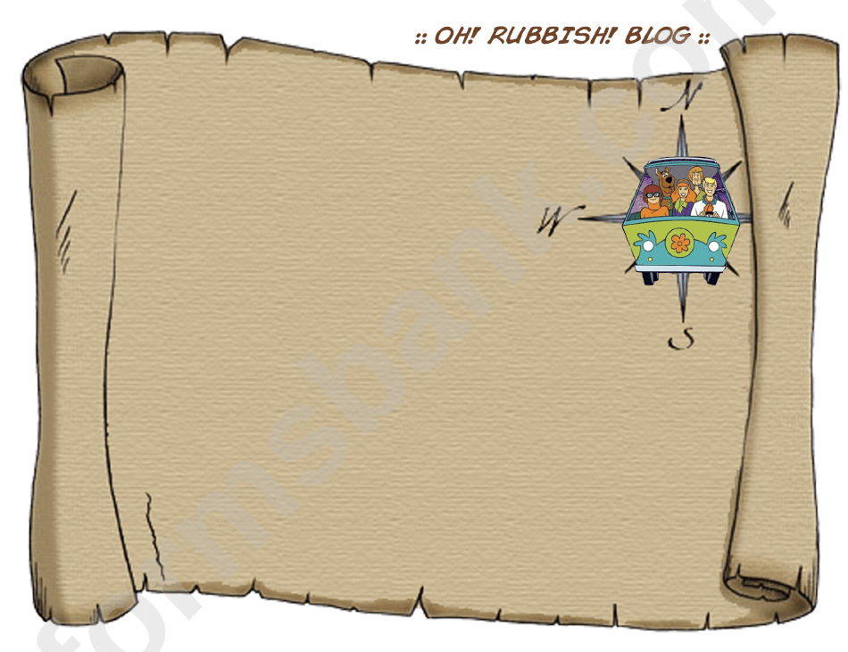 Blank Treasure Map Template Printable Pdf Download