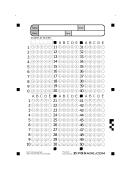 Answer Sheet 1- 50 printable pdf download