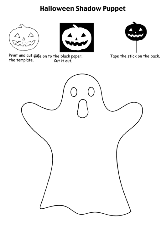 Top Shadow Puppet Templates free to download in PDF format