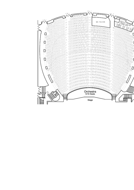 Orpheum Memphis Seating Chart printable pdf download