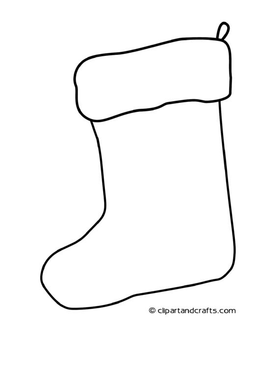 Top 7 Stocking Coloring Sheets free to download in PDF format