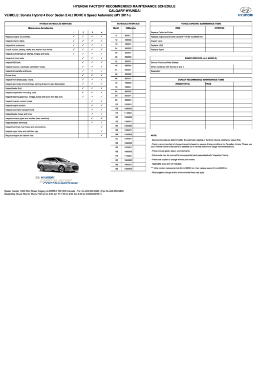 66 Maintenance Schedule Templates free to download in PDF