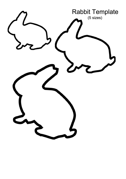 Top 8 Rabbit Templates free to download in PDF format